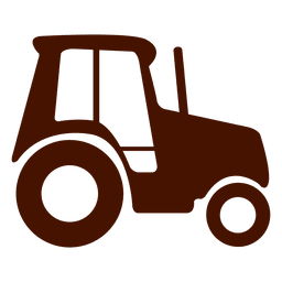 Farm truck transport icon