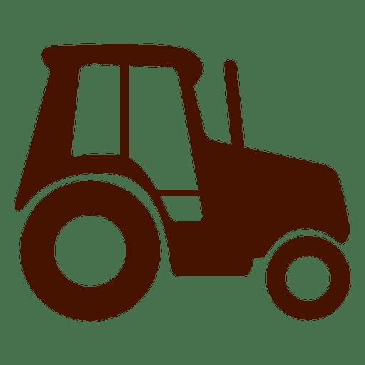 Icono de transporte de camión de granja Transparent PNG
