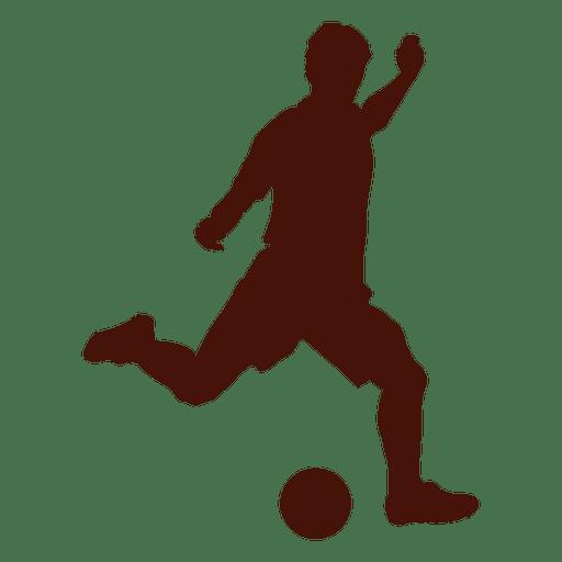 Football cross kicking left