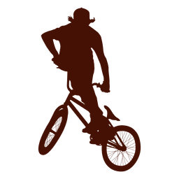 Freestyle bike extreme jump