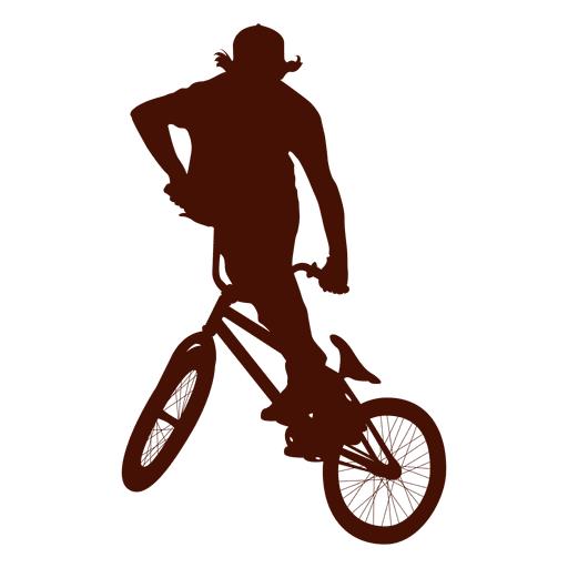 Freestyle bike extreme jump Transparent PNG