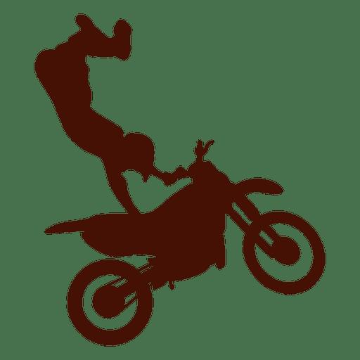 Salto de motocross estilo libre