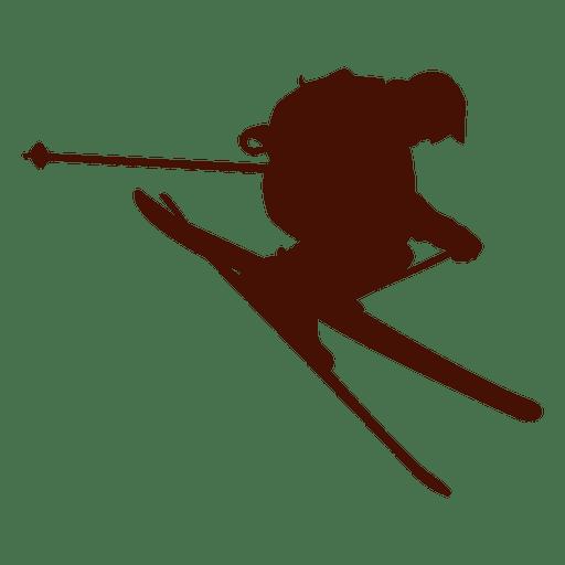 Esqui de Freestyle downhill Transparent PNG