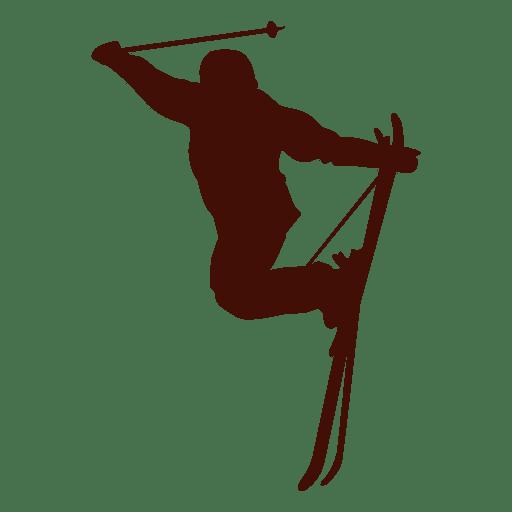 Salto de esqui Freestyle Transparent PNG