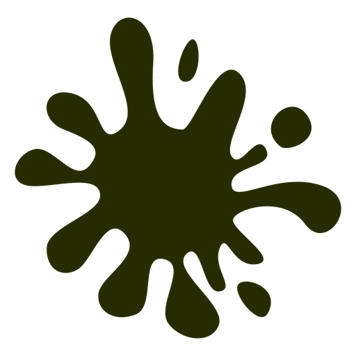 Green cartoon stain Transparent PNG