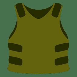 Chaleco de protección verde