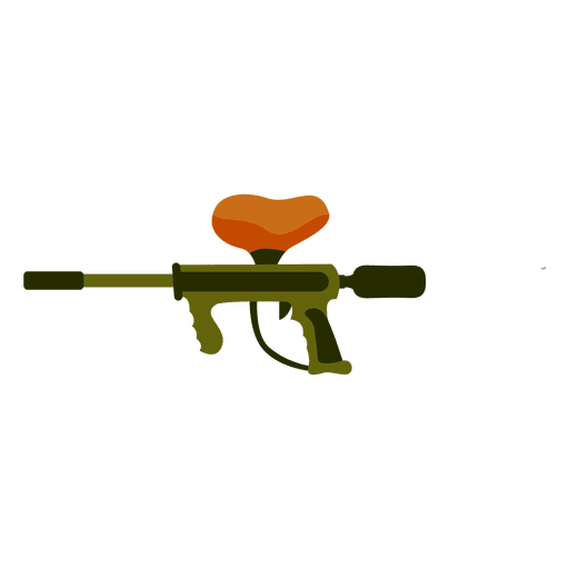Gun colors silhouette Transparent PNG