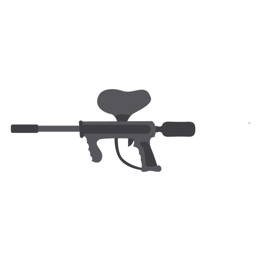 Gun gray silhouette Transparent PNG
