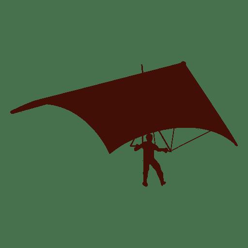 Hang gliding flight landing
