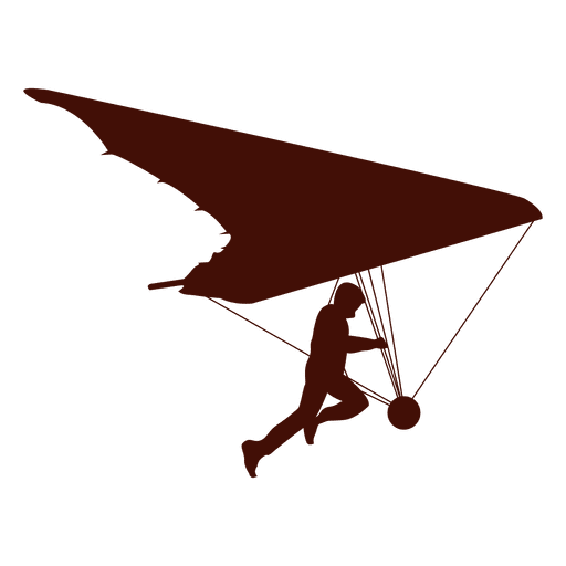Hang gliding flight soar - Transparent PNG & SVG vector