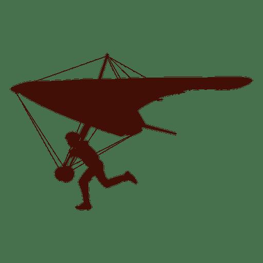 Hang gliding soar - Transparent PNG & SVG vector