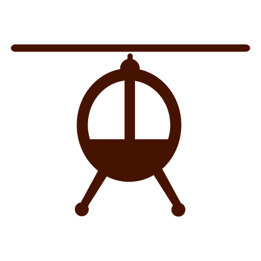Helicopter transport icon Transparent PNG