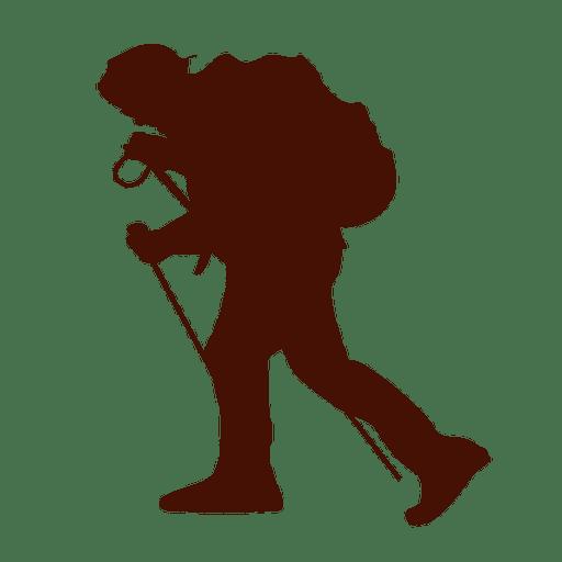 Hillwalking cansaço extremo Transparent PNG