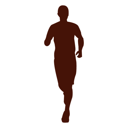 Jogging man running  Transparent PNG