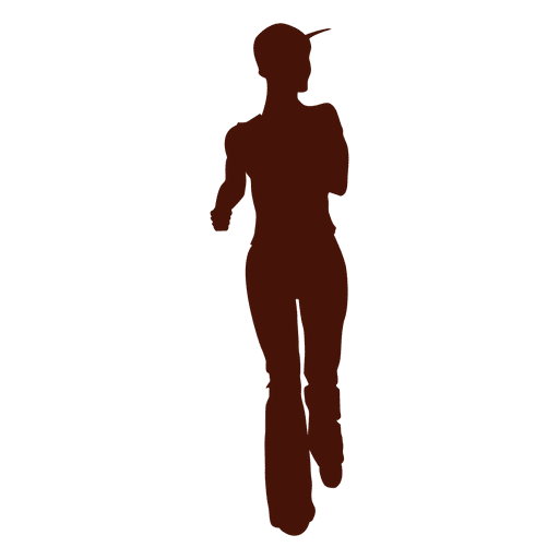 Jogging recreation side look Transparent PNG
