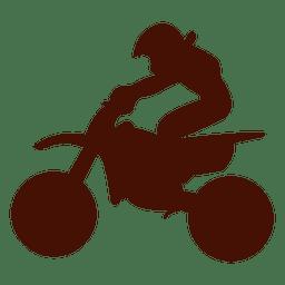 Motocross riding jump