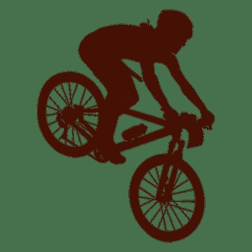 Bicicleta de montaña cuesta abajo Transparent PNG