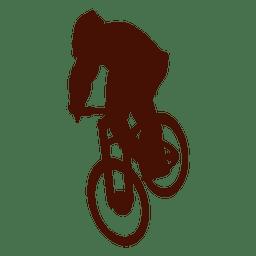Ciclismo de montaña cuesta abajo extremo