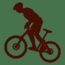 Ciclismo de montaña cuesta arriba