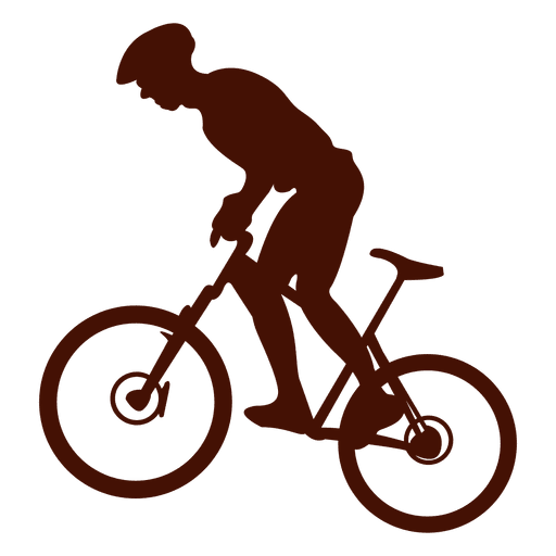 Mountain biking uphill riding Transparent PNG
