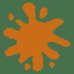 Orangenkarikaturfleck 02