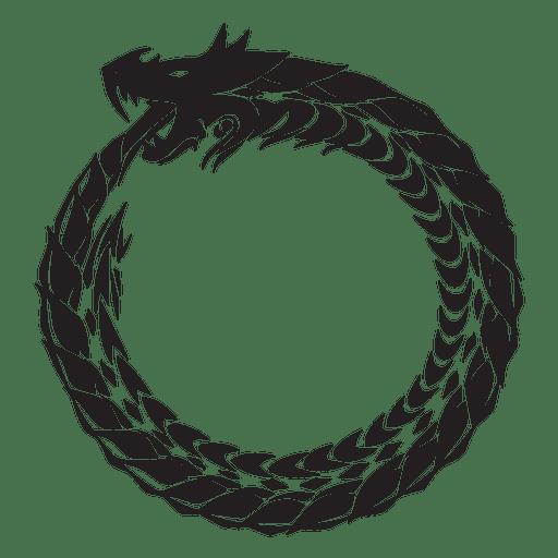 Religión de la serpiente ouroboros
