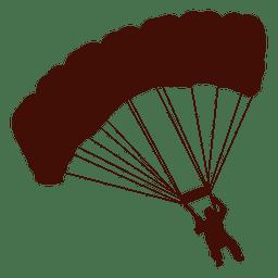 Paragliding Flug rechts abbiegen