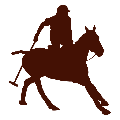 Polo horseback Action Silhouette Transparent PNG
