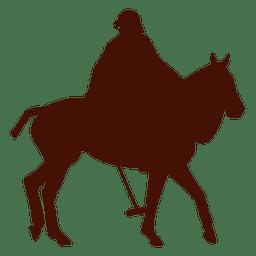 Polo horseback