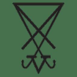 Signo de símbolo de religión
