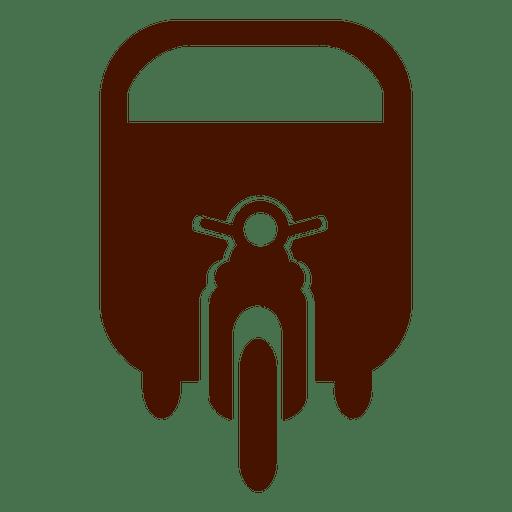 Road bike transport icon Transparent PNG