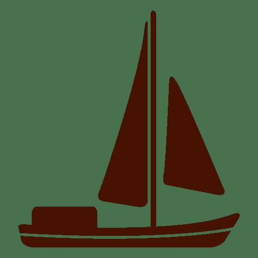Ship sail transport icon