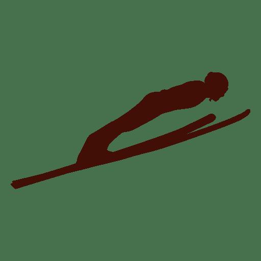 Ski jumping flight