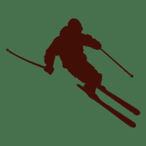 Montanha de esqui downhill Transparent PNG
