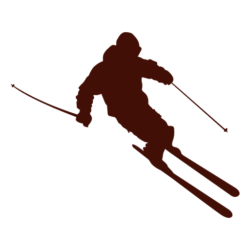 Ski mountain downhill Transparent PNG