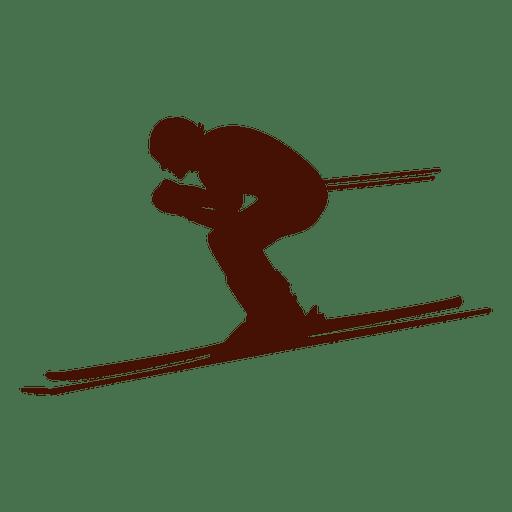 Velocidade de descida de esqui Transparent PNG