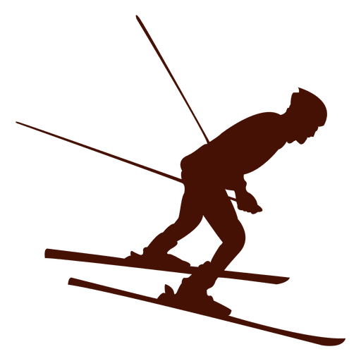 Skiing downhill winter Transparent PNG