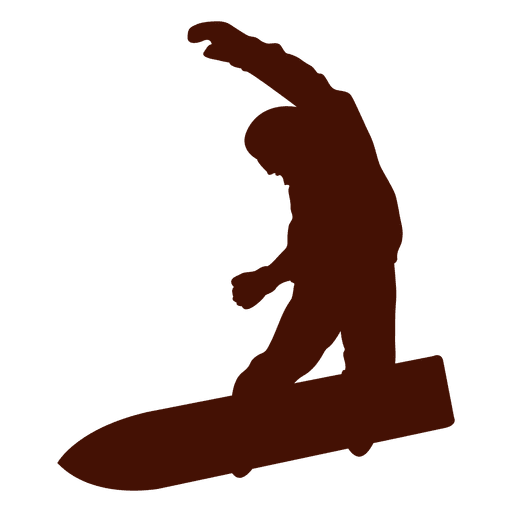 Snowboarding winter bottom view Transparent PNG