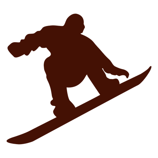 Snowboarding winter jump Transparent PNG