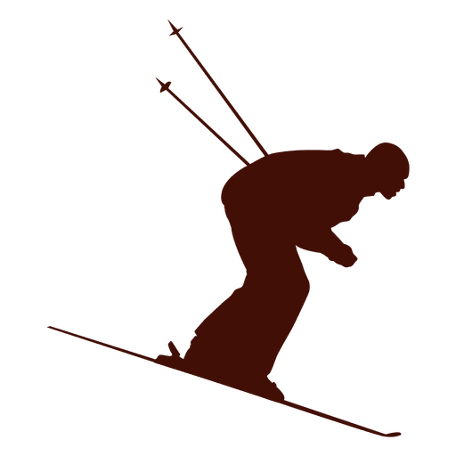 Speed skiing downhill Transparent PNG