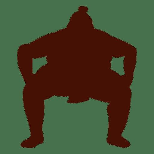 Lucha de sumo de peso pesado Transparent PNG