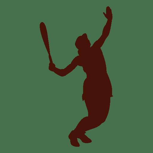 Esporte de serviço de tênis branco Transparent PNG