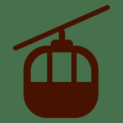 Icono de transporte del tranvía Transparent PNG