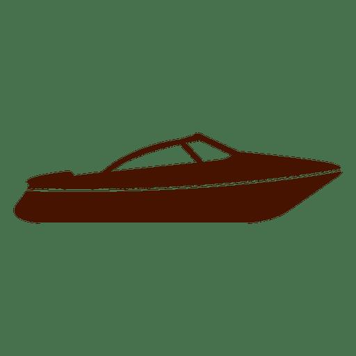 Transport boat icon