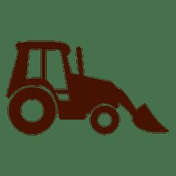 LKW-Bau-Ikone