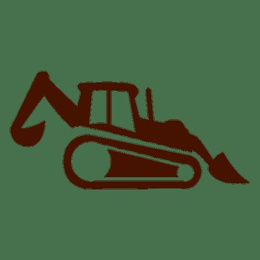 Truck construction transport icon