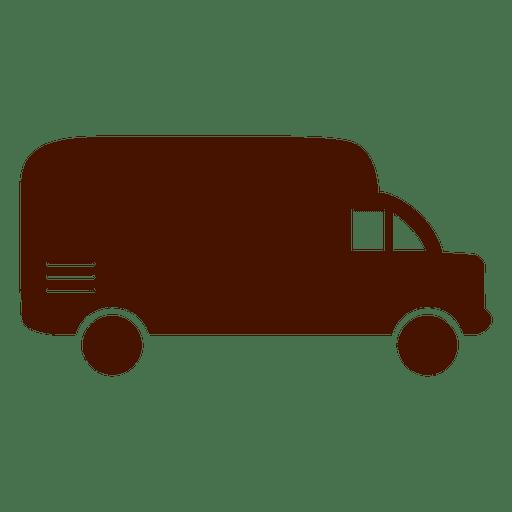 Van logistics transport icon Transparent PNG