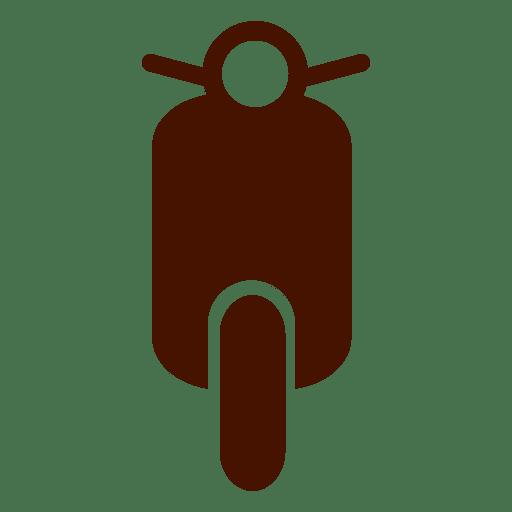 Icono de transporte de bicicleta Vespa Transparent PNG