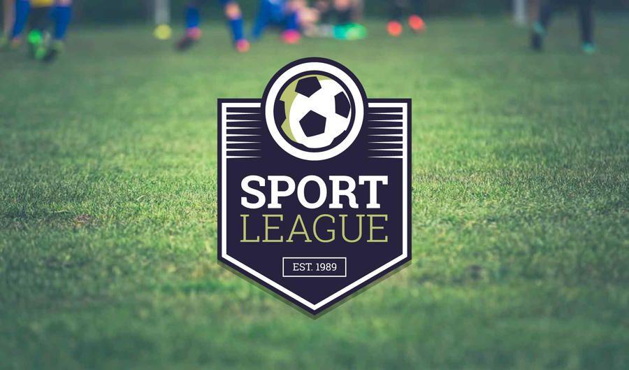 Criador de etiqueta de logotipo de time de futebol