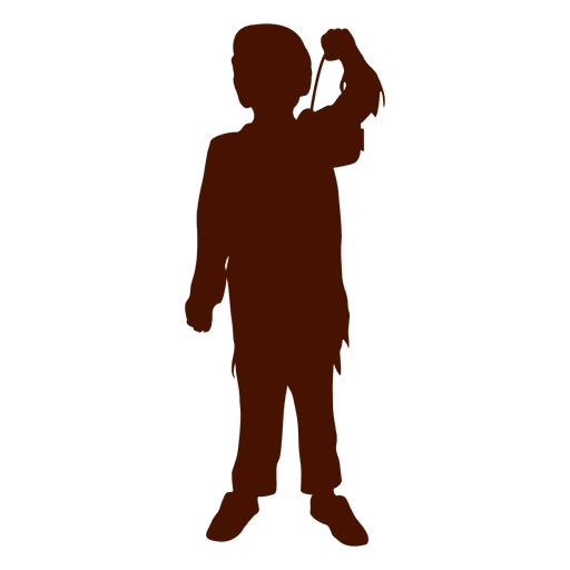 Boy playing silhouette Transparent PNG